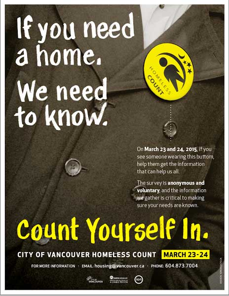 vancouver homeless count