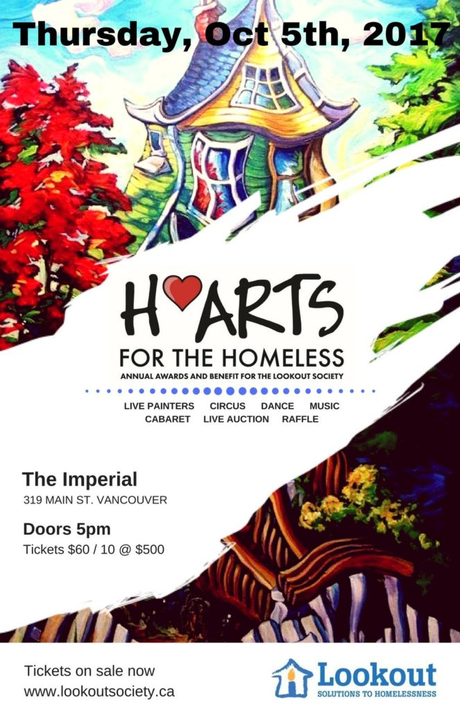 h arts for the homeless