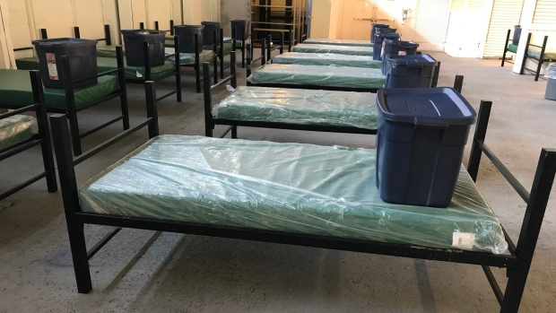 More than 300 beds will be provided by the City of Vancouver and B.C. Housing during the winter months. (Megan Batchelor/CBC News)