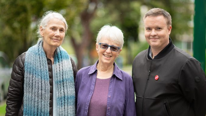 COPE City Council Candidates- Jean Swanson, Anne Roberts, Derrick O'Keefe